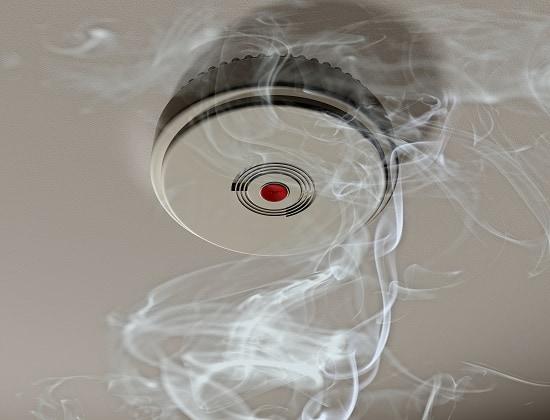 Smoke detector installation wave electric company
