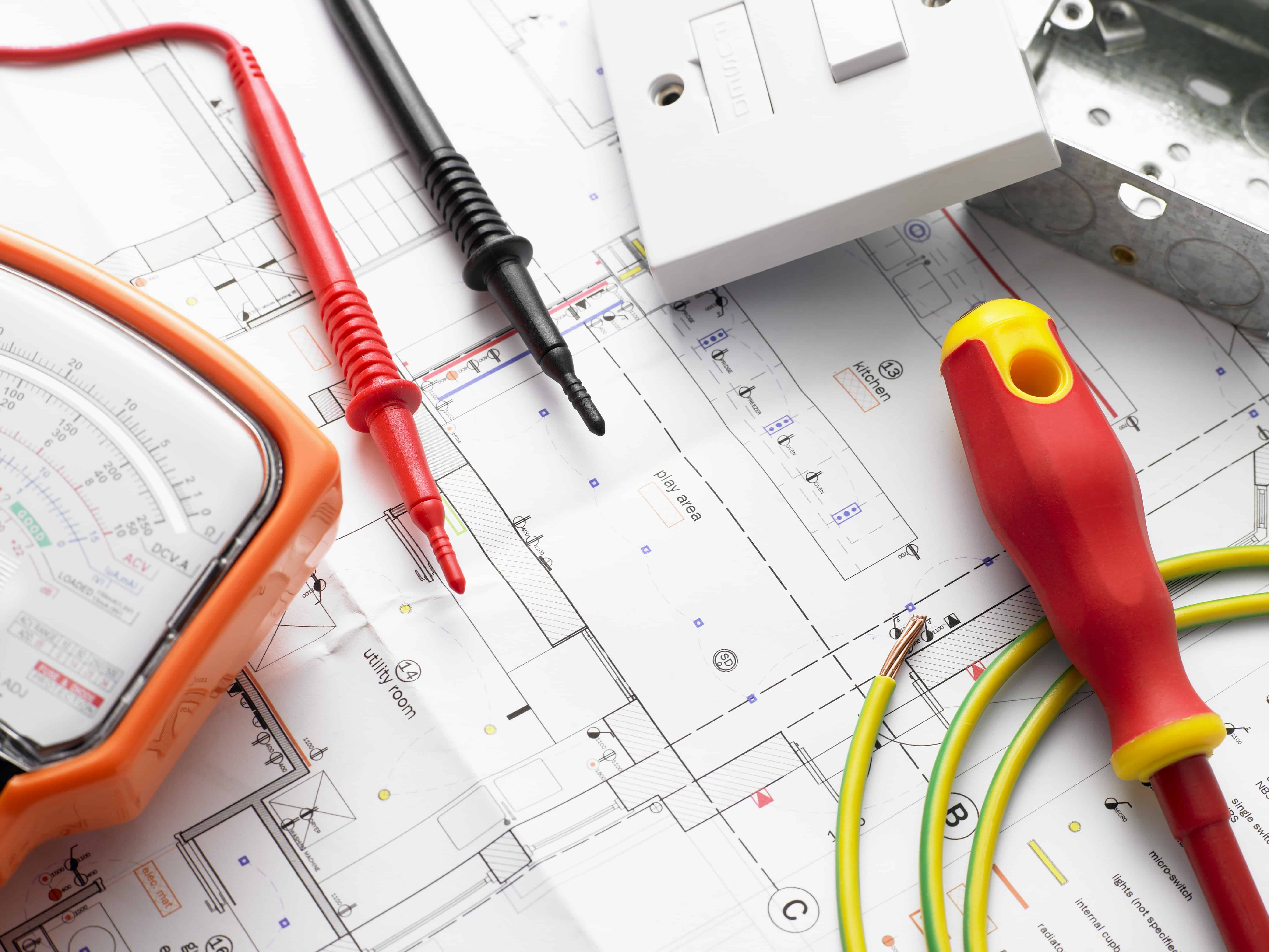 Home Rewiring Tools Wire Center House Wiring Techniques How To Know If You Need Services Wave Electric Company Rh Waveelectriccompany Com Old