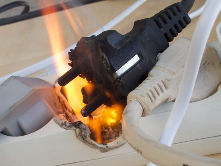 Appliance Electrical Fires