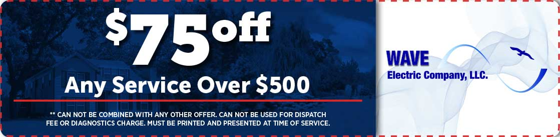 $75 off any service over $500